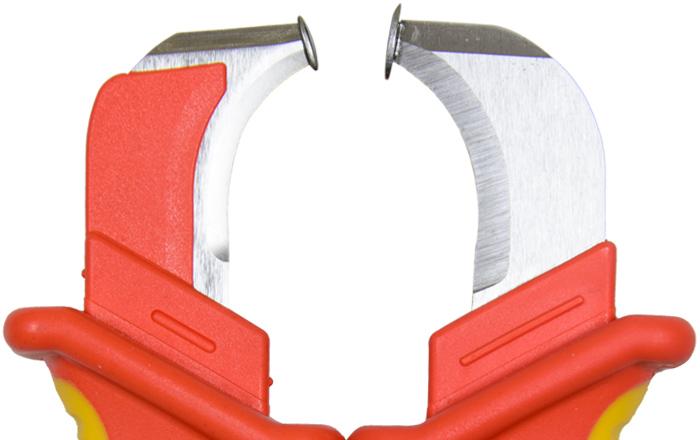 нож монтера с пяткой shtok  14004