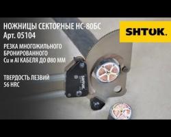 Ножницы Секторные НС-80БС