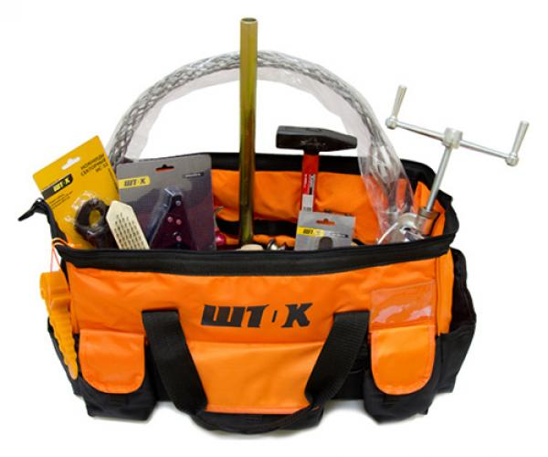 Elementary self-supporting insulated wire tool set