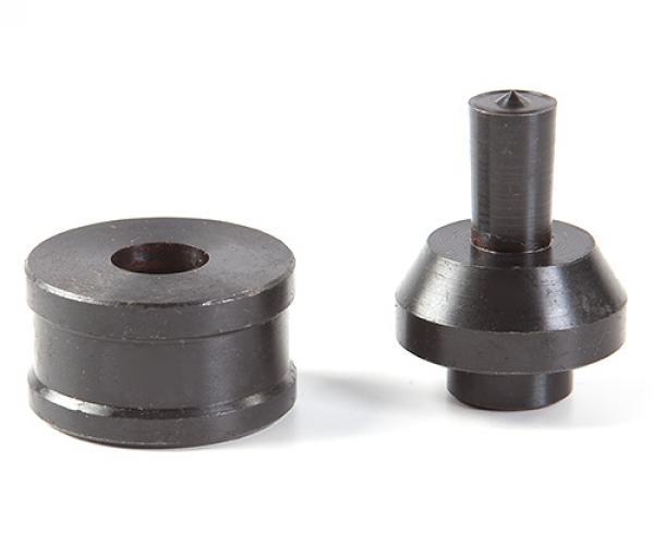 Комплект насадок для перфорирования медных шин диаметром 20,5мм