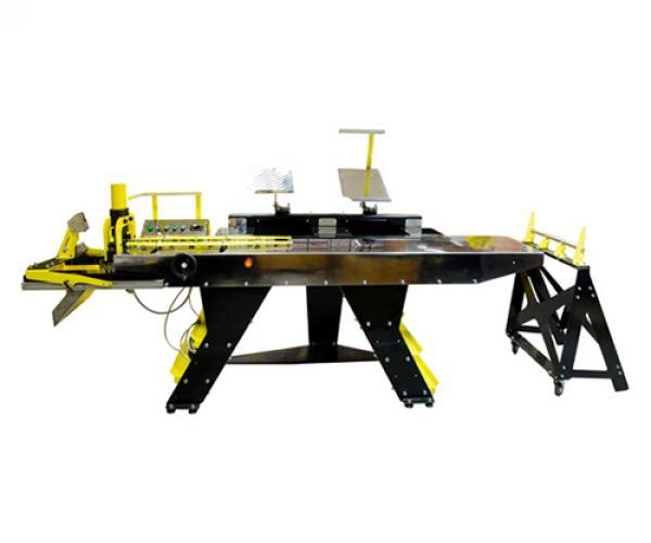 Линия полуавтоматическая ЛПА-6РШ для резки шины